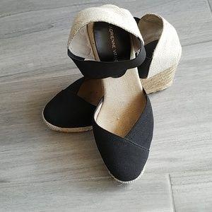 Summer Jute Wedge Sandals